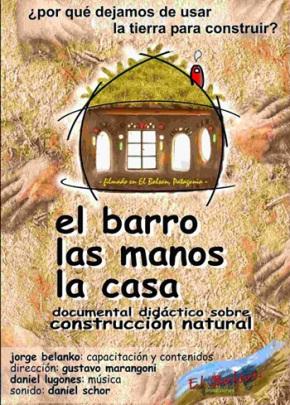 Curso de Bioconstrução: O Barro, as mãos, acasa