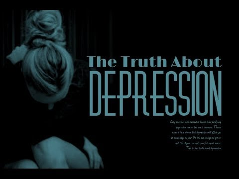 a verdade sobre a depressão