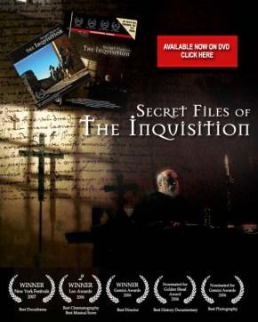 Os Arquivos Secretos da Inquisição – 4episódios